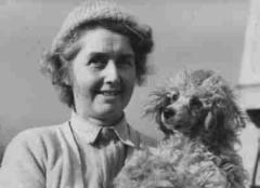 Miss Macmillan with Prudence