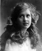 Kay Doxford as a teenager